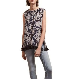 French Connection The Rishiri Crepe Light Top